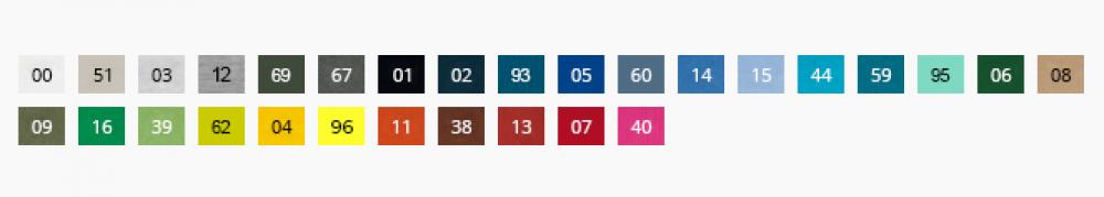 Paleta kolorów heavy new 137