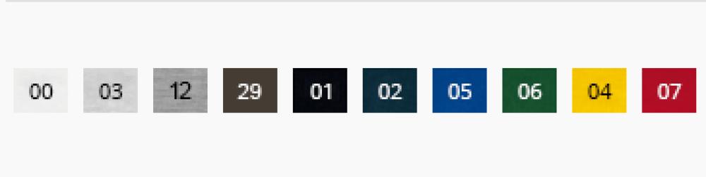 paleta kolorow fit-t long sleeve 119